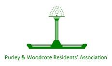 Purley & Woodcote Residents' Association logo
